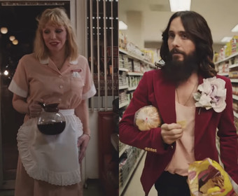 Courtney Love i Jared Leto