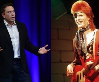 Elon Musk wyśle na Marsa samochód, grający muzykę Davida Bowiego