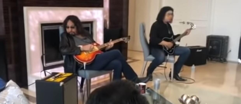 Kiss zagrał kiepski koncert w domu fana