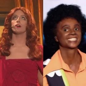 Filip Lato jako Florence Welch i Izabella Miko jako Michael Jackson w Twoja Twarz Brzmi Znajomo