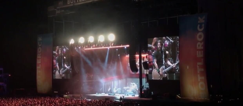 """Foo Fighters odcięto prąd podczas wykonywania """"Everlong"""""""