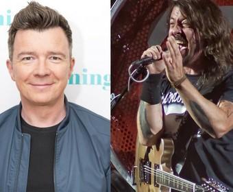 Foo Fighters zagrał z Rickiem Astleyem i strollował publiczność