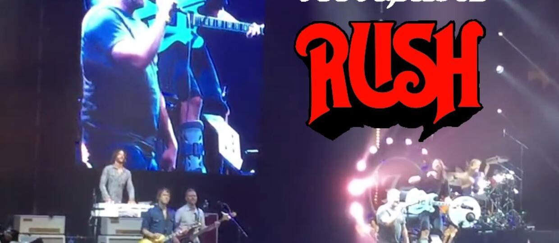 Foo Fighters zaprosił fana do zaśpiewania coveru Rush