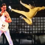 Freddie Mercury vs Bruce Lee