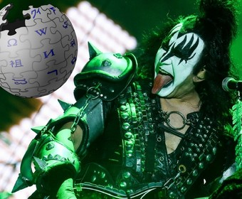 Gene Simmons z Kiss sprawdza, czy Wikipedia pisze o nim prawdę