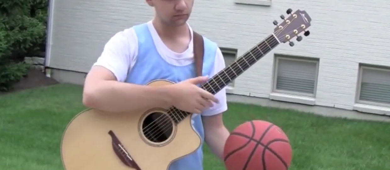 Gitarowa gra w koszykówkę