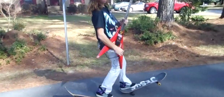 Gitarowa jazda na Jezusie