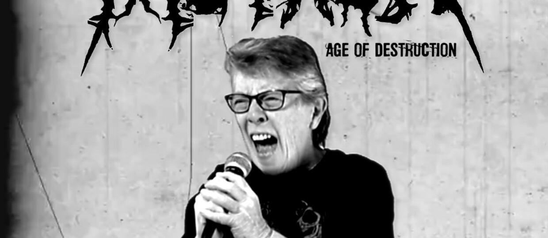 """Grindcore'owa babcia zapowiedziała """"wiek destrukcji"""""""