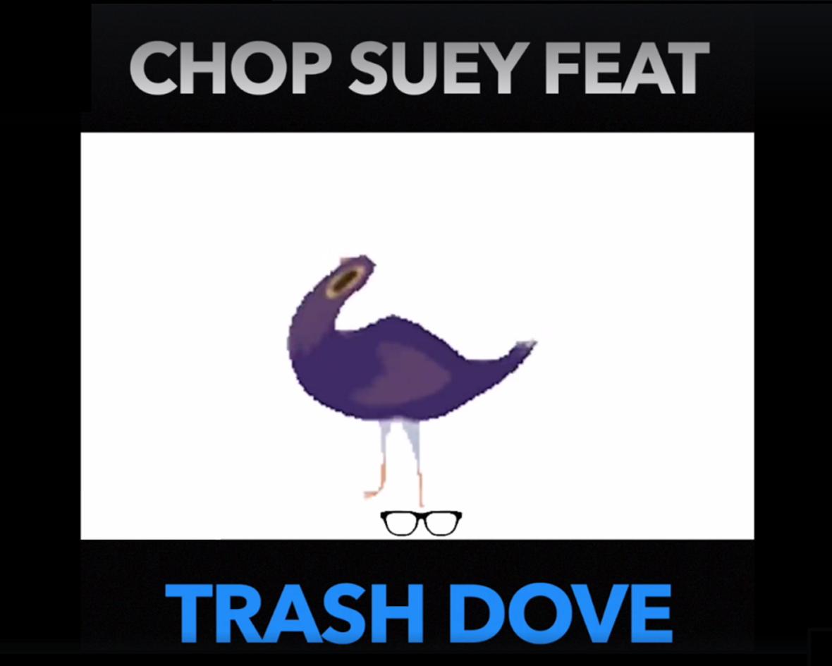 """Gruchacz łupie głową do """"Chop Suey!"""" System of a Down"""