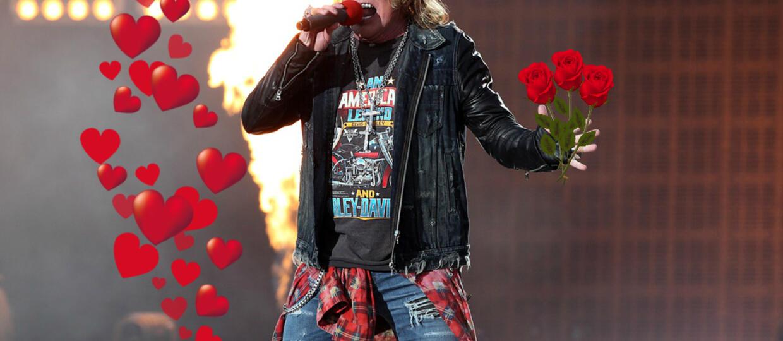Guns N' Roses sprzedaje róże na walentynki