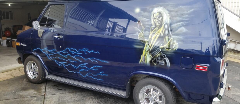 Iron Maiden Van idzie na sprzedaż!