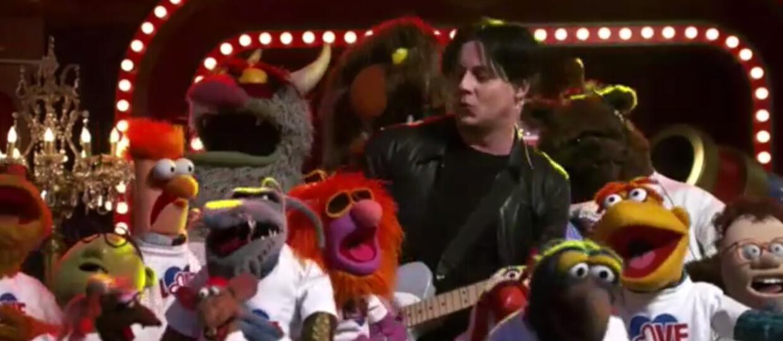 Jack White zagrał z Muppetami