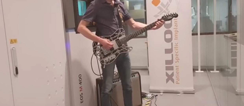 Jak brzmi gitara z drukarki 3D?