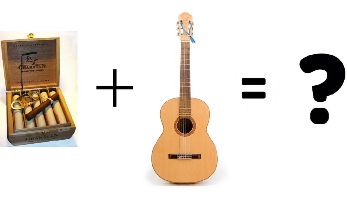 Jak brzmi gitara z pudełka na cygara?