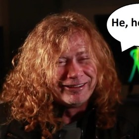 Dave Mustaine z Megadeth