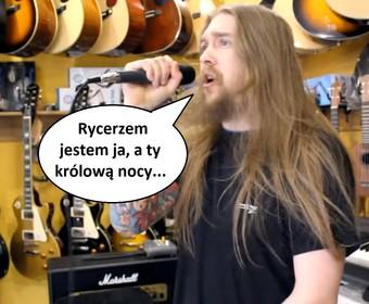 """Jak brzmi """"Miłość w Zakopanem"""" Sławomira na metalowo?"""