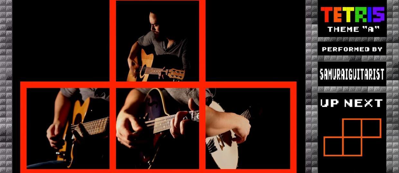 Jak brzmi motyw z gry Tetris zagrany na gitarze?