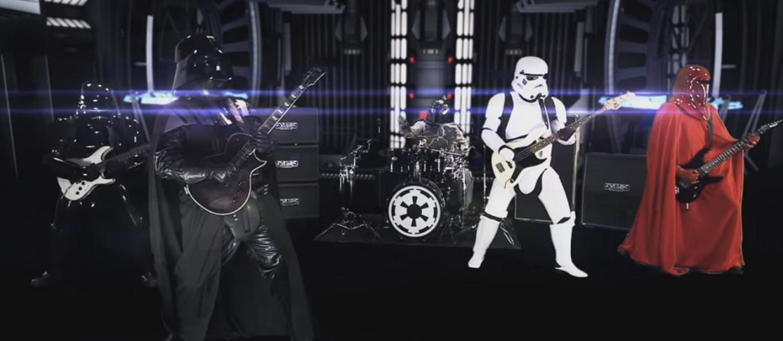 """Jak brzmi motyw ze """"Star Wars"""" w metalowej wersji?"""