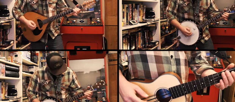 "Jak brzmi ""Wherever I May Roam"" Metalliki na banjo i mandolinie?"