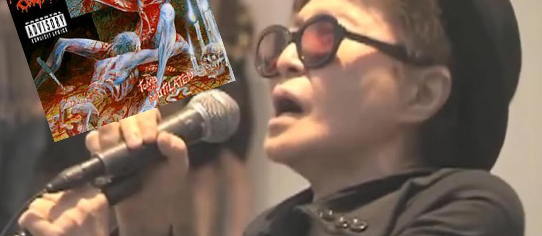 Jak brzmi Yoko Ono w utworze Cannibal Corpse?