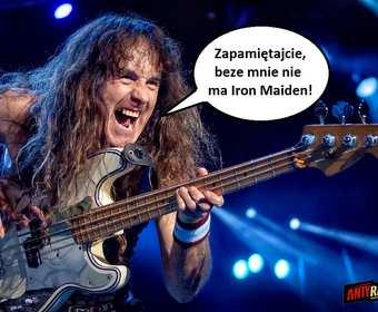 Jak brzmią klasyczne utwory heavymetalowe bez basu?