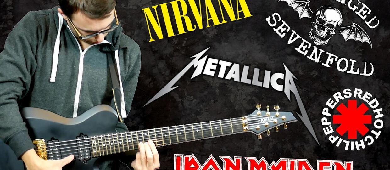 Jak brzmiałby Lil' Wayne jako gitarzysta Nirvany, Metalliki i Iron Maiden?