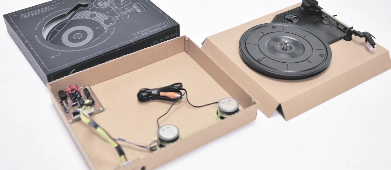 Jak działa gramofon z kartonu?