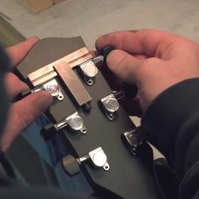 Gitara własnoręcznie wykonana