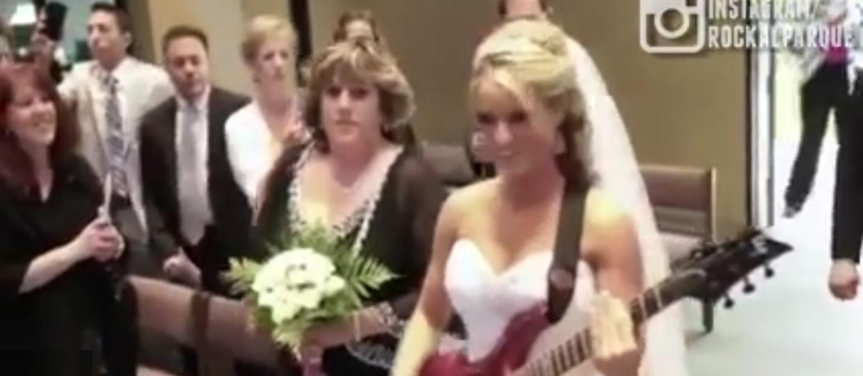 Jak wygląda najbardziej metalowy ślub?