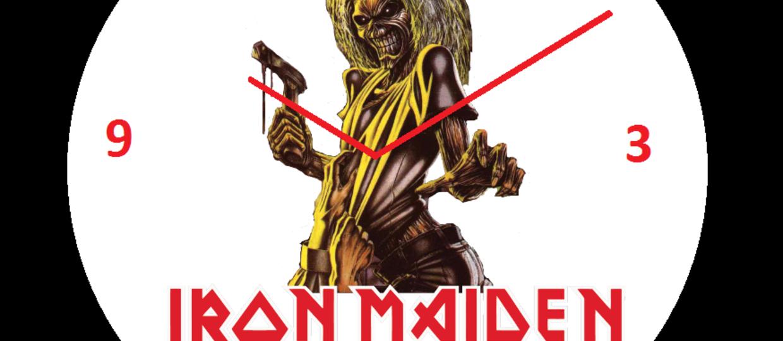 Jak wygląda zegarek prawdziwego fana Iron Maiden?
