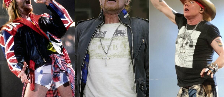 Jak zmieniał się styl ubioru Axla Rose'a na przestrzeni lat?
