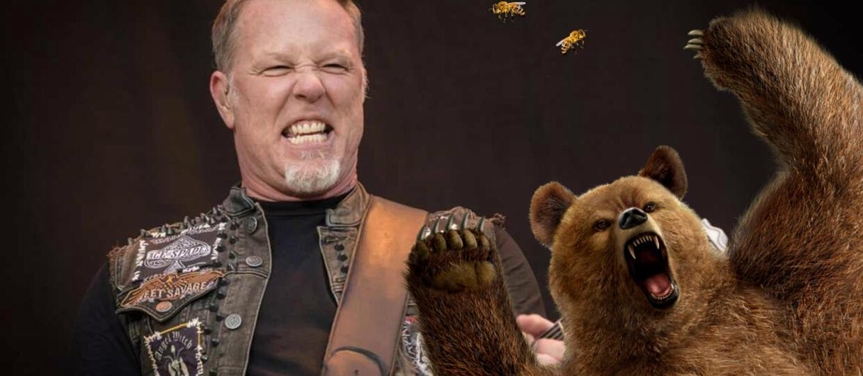 James Hetfield: Gdy założysz czarne ubrania pszczoły zaatakują Cię, bo pomyślą, że jesteś niedźwiedziem