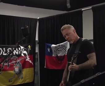 James Hetfield z grupy Metallica