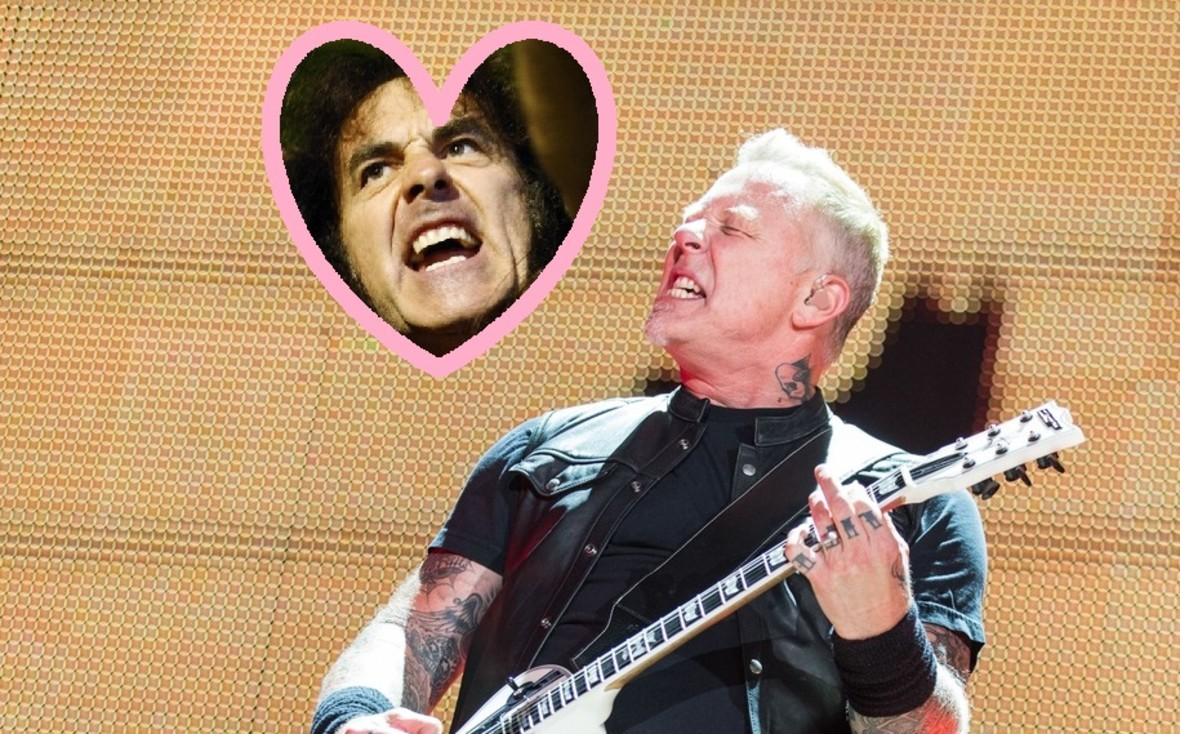 James Hetfield i Lars Ulrich są psychofanami Steve'a Harrisa z Iron Maiden