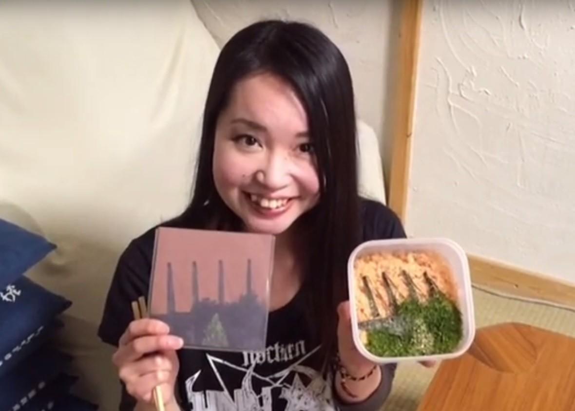Japonka zrobiła potrawę w hołdzie polskiemu black metalowi