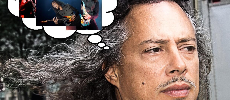 Jeden tweet, którym Kirk Hammett rozwścieczył branżę muzyczną