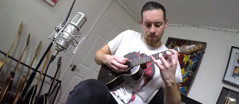 """""""Johnny B. Goode"""" Chucka Berry'ego zagrany na ukulele"""