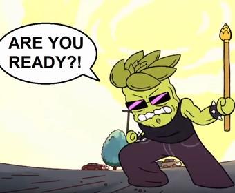 Jonathan Davis z Korna jako numetalowy złoczyńca w kreskówce Cartoon Network