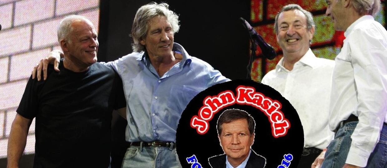 Kandydat na prezydenta USA obiecał reaktywację Pink Floyd
