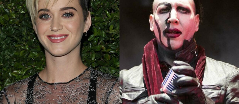 Katy Perry protestowała przeciwko koncertom Marilyna Mansona