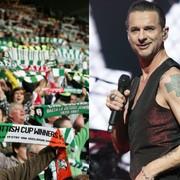 """Kibice Celtiku Glasgow śpiewają """"Just Can't Get Enough"""" Depeche Mode"""