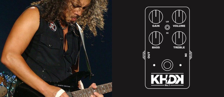 Kirk Hammett pokazał przełomowy efekt gitarowy