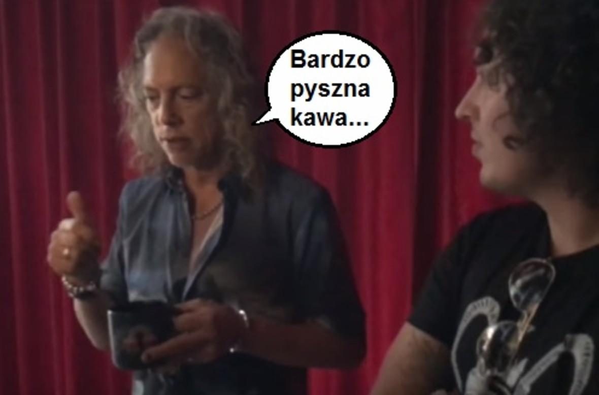 Kirk Hammett prezentuje metalową kawę Ghoul Screamer