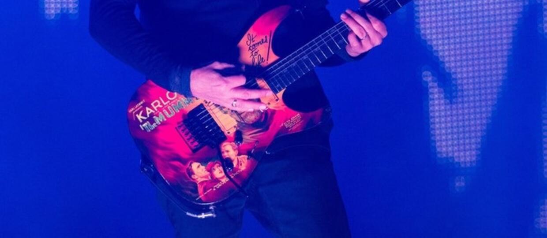 Kirk Hammett przedstawił efekt gitarowy Scuzz Box
