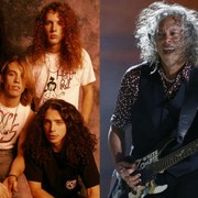 """Kirk Hammett: Riff do """"Enter Sandman"""" Metalliki był inspirowany Soundgarden"""