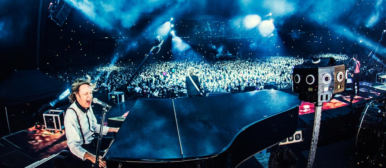 Koncert McCartneya w kieszeni