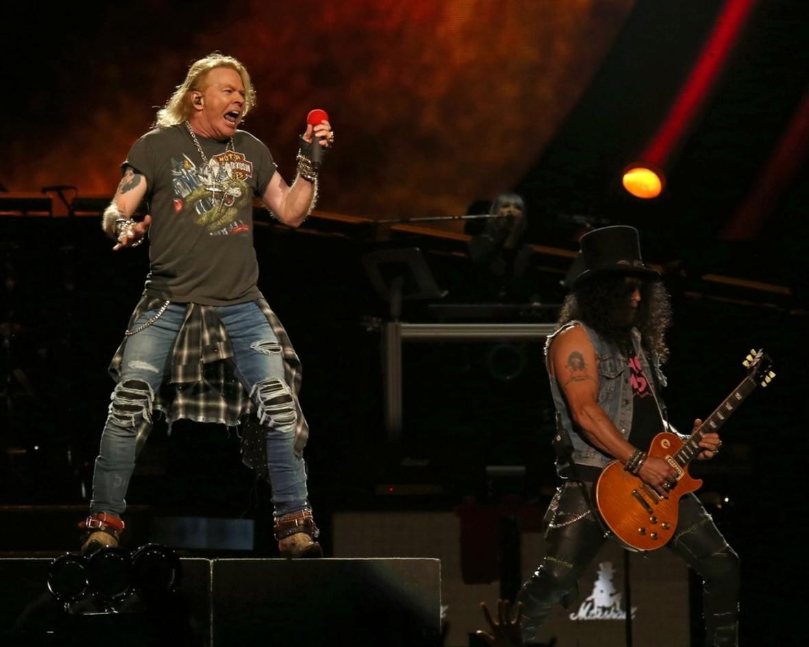 Który album i singiel Guns N' Roses są najlepsze? [WYNIKI SONDY]