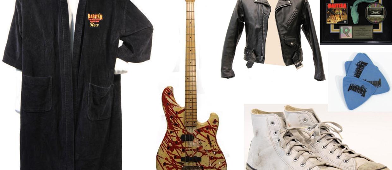 Kup stare trampki, gitary i szlafrok od Pantery!