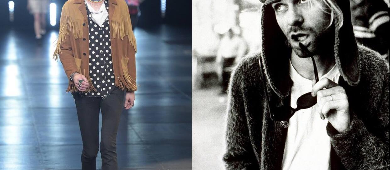 Kurt Cobain doczekał się nowej kolekcji ubrań