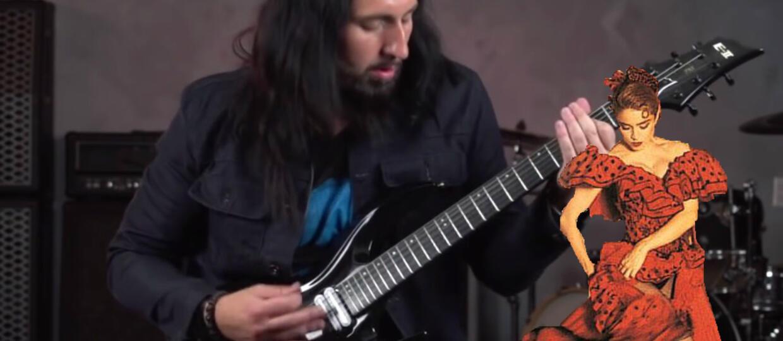 """""""La Isla Bonita"""" w metalowym wykonaniu gitarzysty Madonny"""